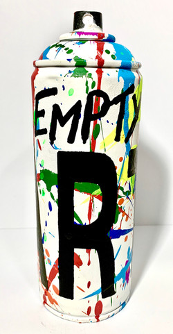Empty Art Spray