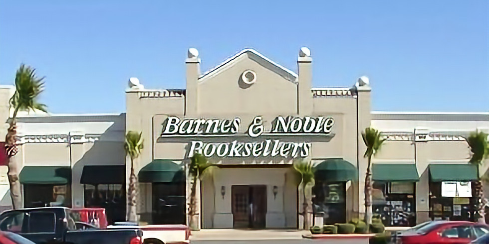 Book Signing at Barnes & Noble, Tyler, Texas