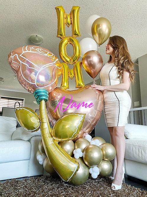 Glamour MOM  Balloon Bouquet