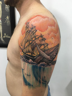 ballena barco