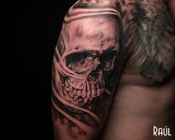 Skull Tattoo Raul