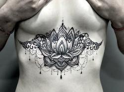 Underboob Lotus mandala