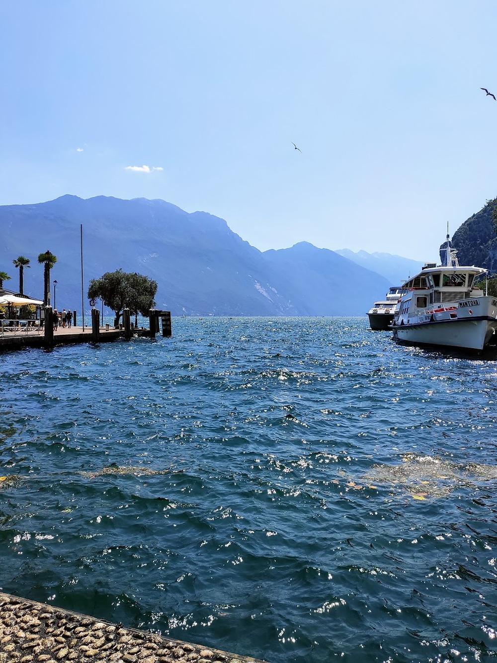 Vackra Gardasjön #tågsemester