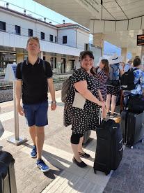 På väg mot Garda #tågsemester