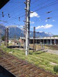 Utsikt från tågfönster #tågsemester