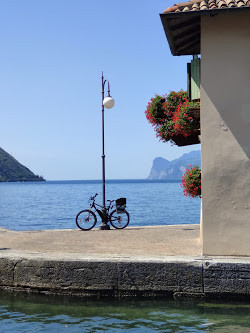 Torbole, en vacker stad vid Gardasjön #tågsemester