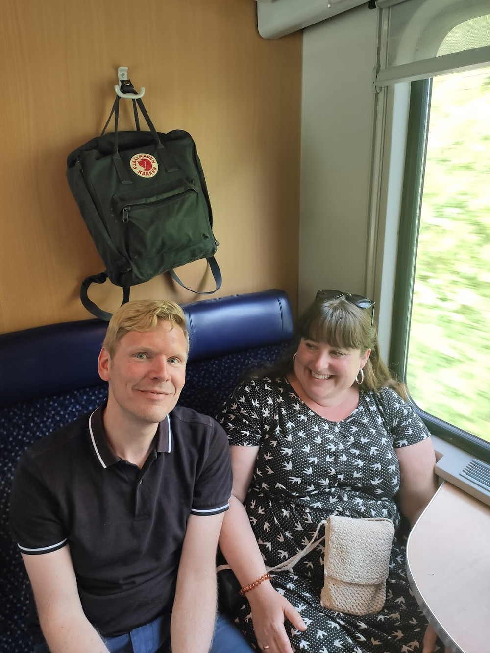 Daniel och Åsa på #tågsemester till Torbole