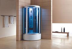 מקלחון עיסוי Tander 107x107x2150 אגנית מוגבהת.jpg
