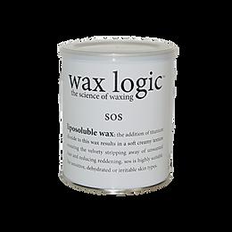 SOS - A hybrid mix of cream and silk wax with titanium & zinc oxide. 800ml
