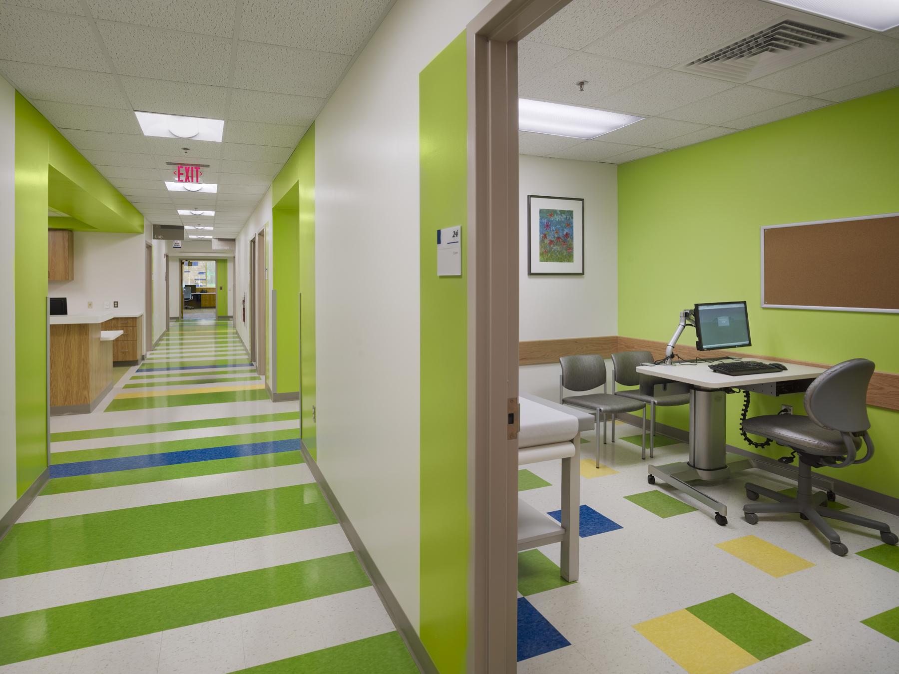 Exam Room Corridor