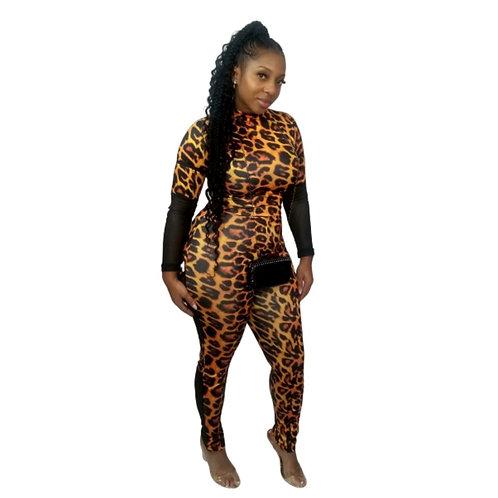 Pretty Kitty Bodycon Jumpsuit