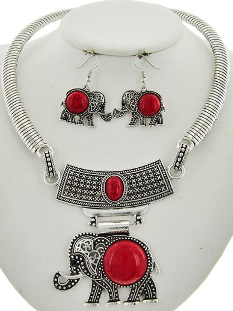 Red Elephant set
