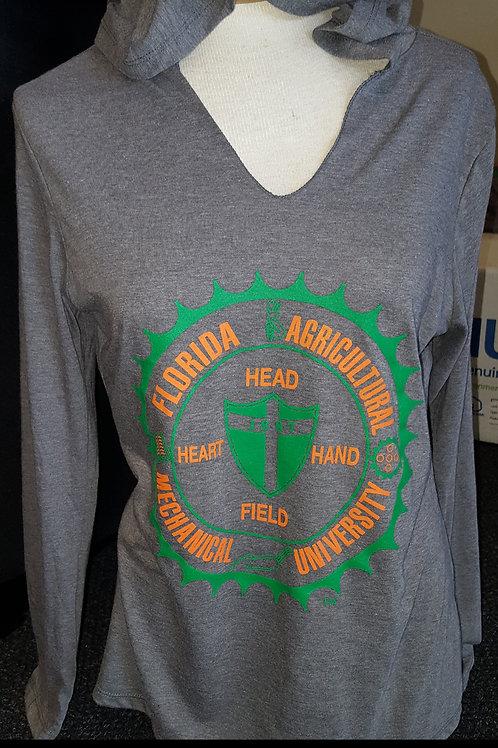 Ladies T-Shirt Hoodie