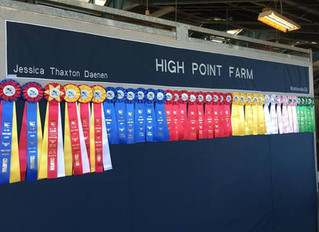 Congratulations to High Point Farm Hunter/Jumper riders!