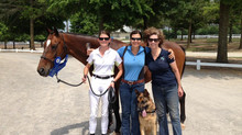 Congrats to HPF Dressage riders at the GHF show!