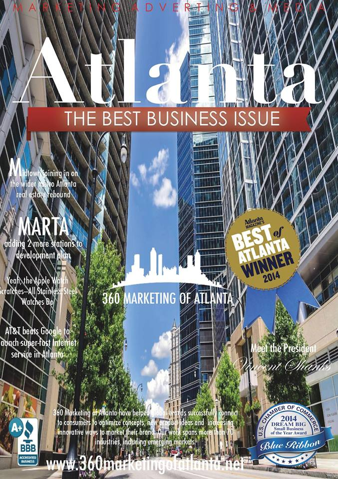 360 Marketing of Atlanta Makes Cover