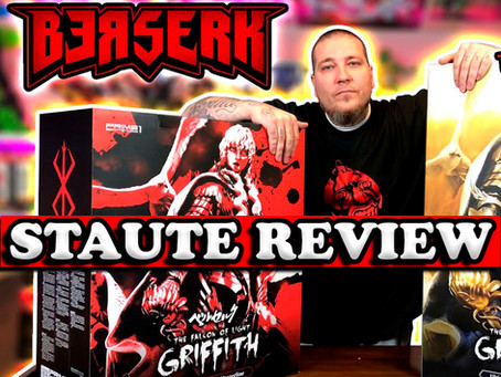 BERSERK: GRIFFITH The Falcon of Light Statue Review