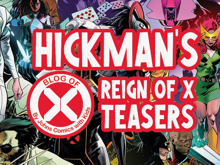 Blog of X: Hickman's REIGN of X TEASERS