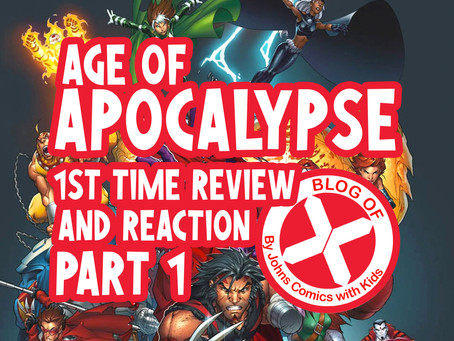 AGE of APOCALYPSE- First Time Reading- REVIEW/REACTION part 1