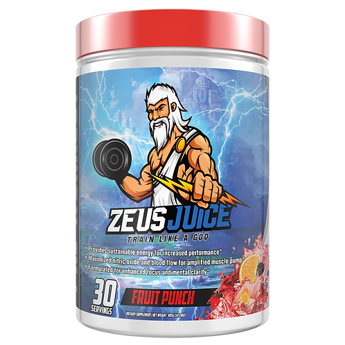 ZeusJuice Advanced Pre-workout Fruit Punch