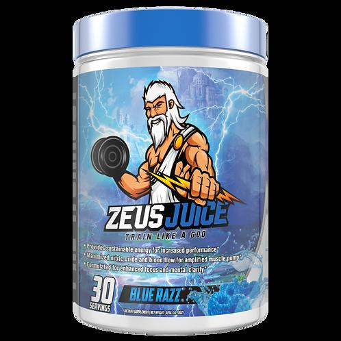 ZeusJuice Advanced Pre-workout Blue Razz
