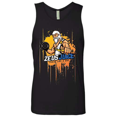 ZeusJuice Mens Splatter Tank