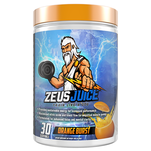 ZeusJuice Advanced Pre-workout Orange Burst