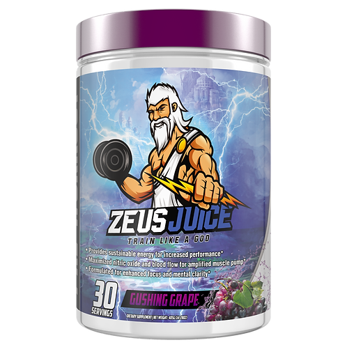 ZeusJuice Advanced Pre-workout Gushing Grape