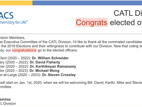 Congratulations to our new officers-elect