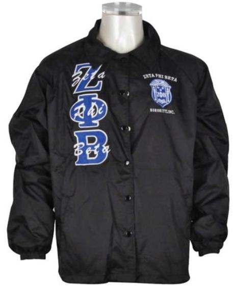 Zeta Phi Beta Line Jacket