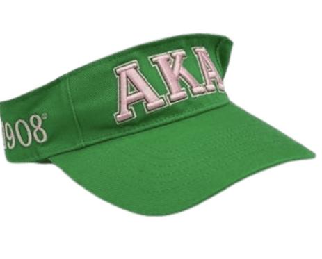 Alpha Kappa Alpha Visor