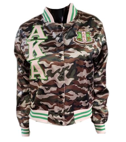 Alpha Kappa Alpha Satin Jacket