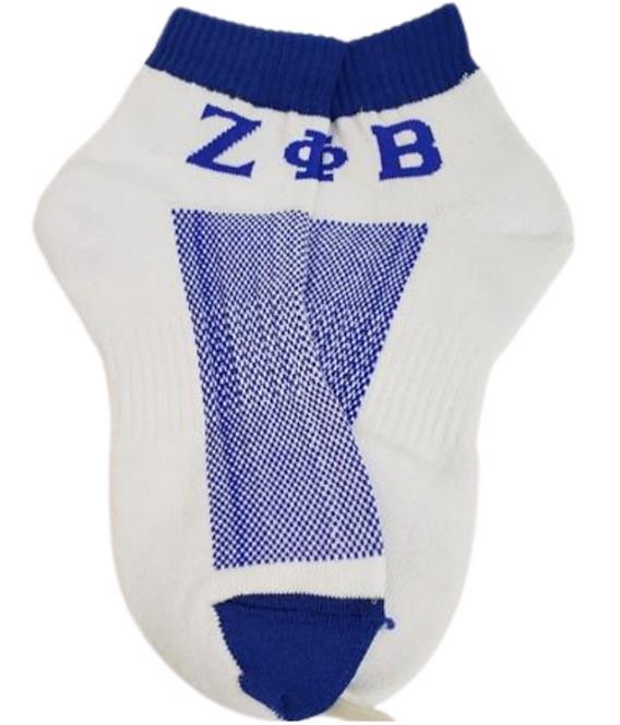 Zeta Phi Beta Ankle Socks