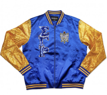 SIGMA GAMMA RHO SEQUIN JACKET