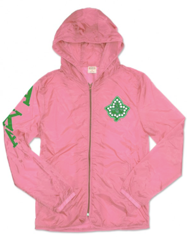 ALPHA KAPPA ALPHA LIGHT WEIGHT JACKET WITH POCKET