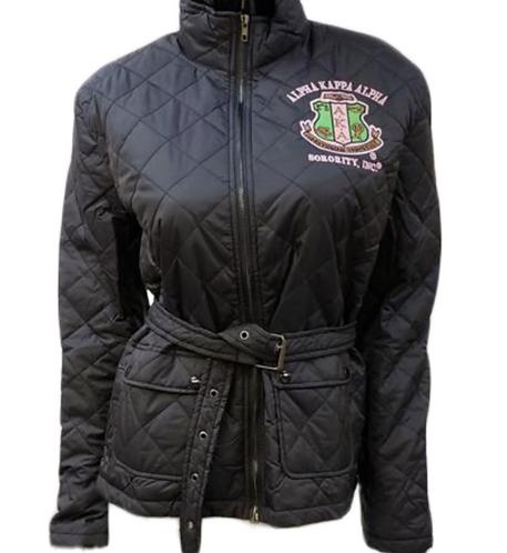 Alpha Kappa Alpha Quilted Jacket