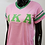 Thumbnail: Alpha Kappa AlphaV-Neck Striped Tee