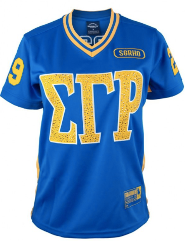 SIGMMA GAMMA RHO FOOTBALL JERSEY
