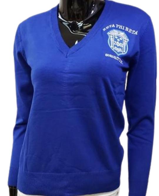 Zeta Phi Beta Classic Pull Over Sweater