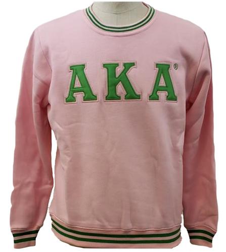 Alpha Kappa Alpha Crew Neck Sweatshirt