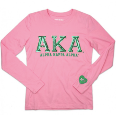 ALPHA KAPPA ALPHA LONG SLEEVE TEE