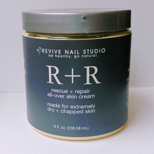 Rescue + Repair dry skin cream  8oz