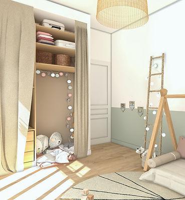 23 - Chambres Lina - Vers Dressing Caban