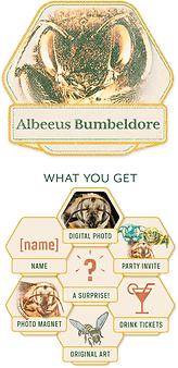 Albeeus-w-Rewards_Portraits_Adopt-a-Bee_