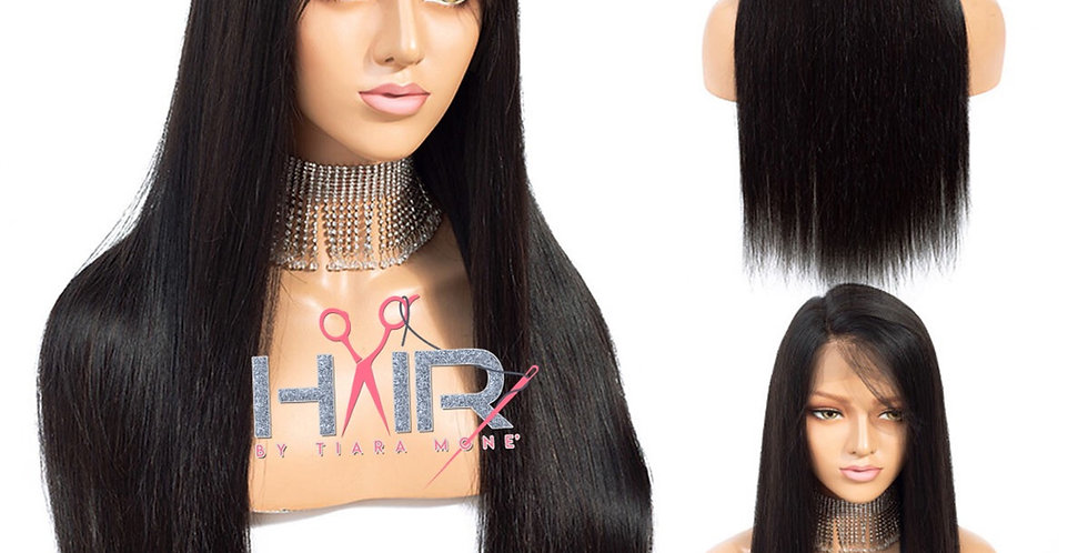 Japanese Mink Straight x Lace Frontal Wig  ( Pink Label )