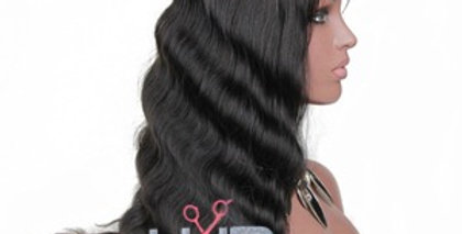 Brazilian Body Wave x Lace Frontal Wig  ( Pink Label )