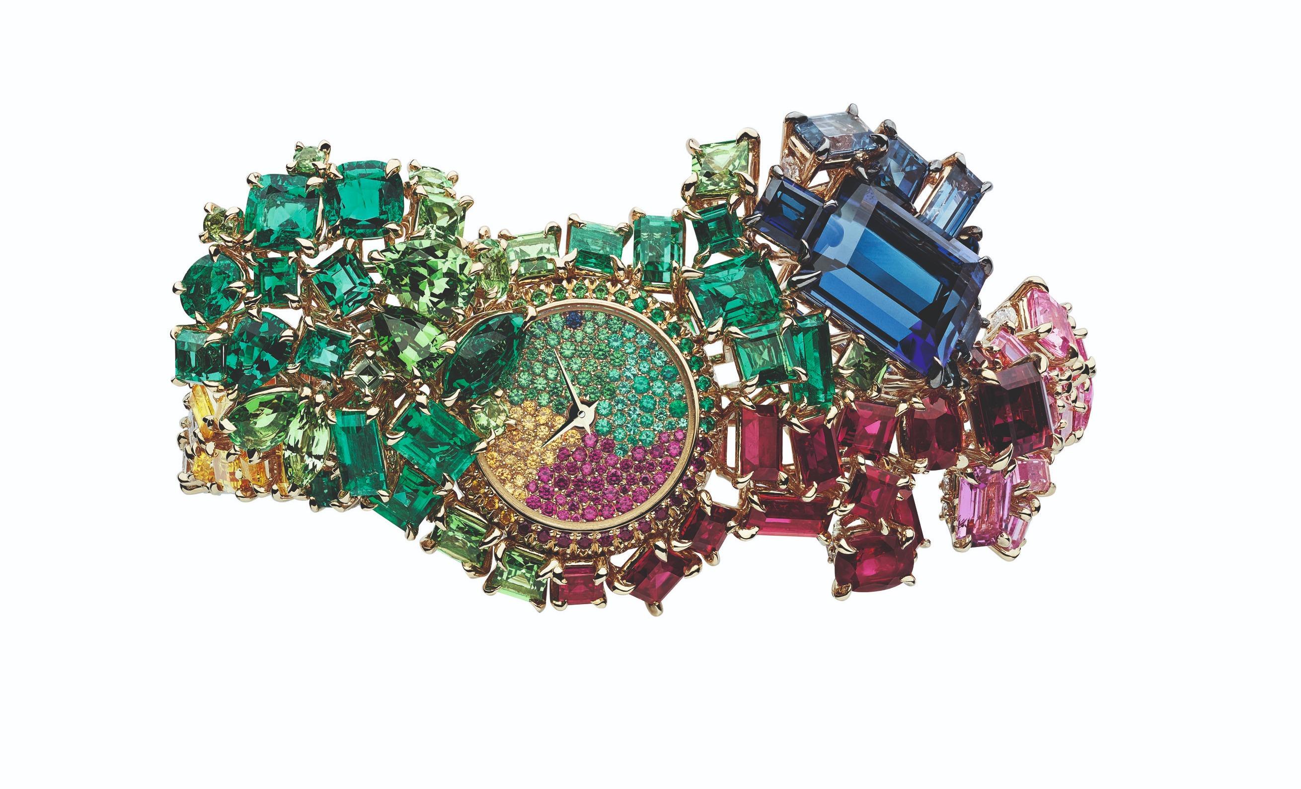 Dior. Часы-браслет Multicolor