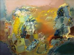 Рассвет. 90х120. х.м. 2002