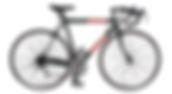 Red Stripes Bike