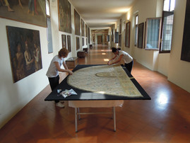 Palazzo Ducale di Mantova, Corridoio di Santa Barbara